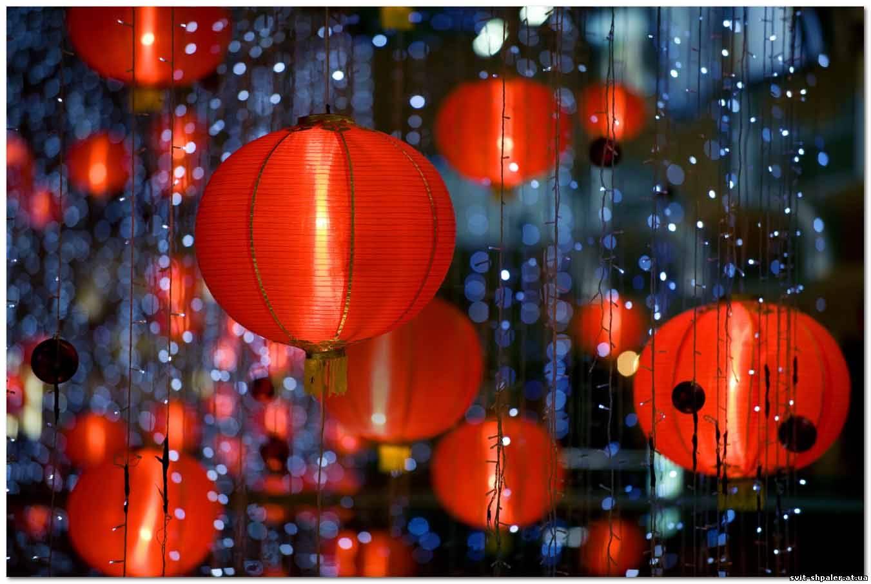 Поделки из китайских фонариков фото